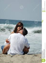 lovers on the beach royalty free stock photography image 1693317