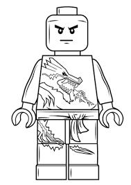 coloriage zane lego ninjago coloriages à imprimer gratuits
