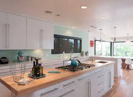 kitchen countertop ideas bright two tone kitchen countertop with white cabinet and green wall