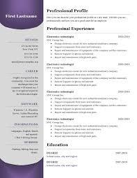resume templates 380 to 385 u2013 free cv template dot org