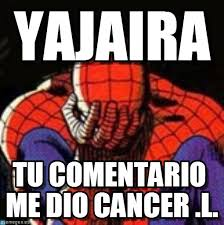 Spiderman Meme Cancer - yajaira sad spiderman meme on memegen