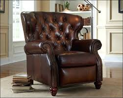 American Design Furniture Enchanting American Made Tufted Leather Recliner Comfort Design