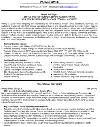 Sample Resume Of Network Administrator by 28 Network Security Resume Sample Network Security Resume