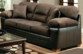 brown microfiber sofa bed black microfiber couch 3 position lounger sofa bed washable cover