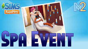 sims freeplay spa event tutorial u0026 walkthrough youtube