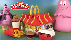 cuisine mcdo jouet play doh mcdonald s restaurant playset pâte à modeler mcdo frites