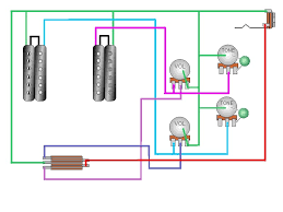 do any of you know of a wiring diagram for 2 volumes and 2 tones