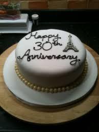 30 wedding anniversary 30th wedding anniversary cakes idea in 2017 wedding