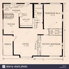 2 bedroom floorplans floor plans for the prefabricated enameled steel sided lustron stock