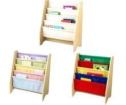 Bookcases Kids Bookcase Kids Sling Bookshelf With Storage Bins Canada Bookcase