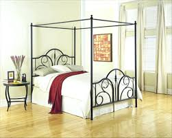 Metal Canopy Bed Metal Canopy Bed Frame Image Of Metal Canopy Bed Frame King Size