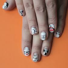 thanksgiving turkey nail art choupette lagerfeld nail art is the best way to prepare for paris