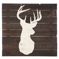 wood plank artwork deer wood plank wall decor hobby lobby 1125640