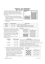 all worksheets density worksheets with answer key printable