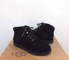 s bethany ugg boots ugg australia bethany suede sheepskin black boots size 10 us ebay
