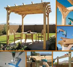 Backyard Arbors Diy Backyard Pergola Diy Cozy Home