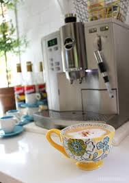 fancy coffee cups fall nesting pretty mugs fancy coffee station the inspired room