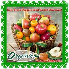 organic fruit basket indulge your senses in organic cali fresh fruit basket with