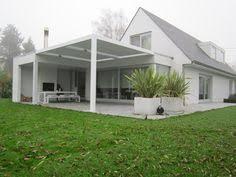 terrasse transparente biossun benelux project terrasoverkapping pergola couverture de