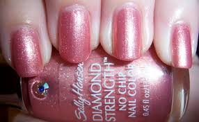 amazon com sally hansen diamond strength nail enamel blushing