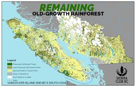 Map Of Vancouver Canada by Vancouver Island Old Growth Logging Rate Will Lead To Collapse