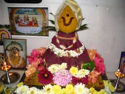decoration for puja at home varalakshmi vratham festival information varalakshmi vratham