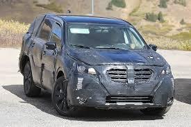 Subaru Three Row Subaru Spied Testing Its New Three Row Utility Vehicle Ahead Of