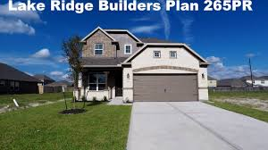 lake ridge builders plan 265pr youtube