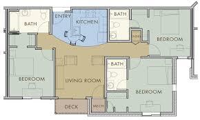 3 bedroom 3 bath floor plans beautiful popular 3 bedroom flat plans for kitchen bedroom