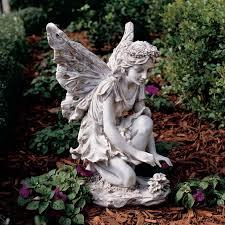 design toscano fiona the flower garden statue hayneedle