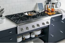 Ge Downdraft Gas Cooktop Ge Cgu366sehss 36 Inch Natural Gas Rangetop With Reversible Burner