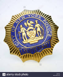 nypd police badge stock photo royalty free image 11972765 alamy