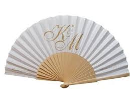personalized fans for weddings 34 best paper fan images on fan bamboo and fans