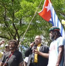 New Guinea Flag Governor Parkop Will Not Be Silent On The West Papua Issue