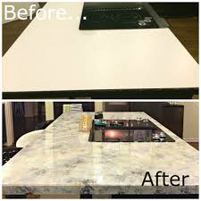 refinish kitchen countertop a dream design on a dime u2013 faux granite better than the real thing