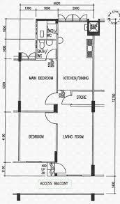 singapore floor plan floor plans for 1 eunos crescent s 400001 hdb details srx property