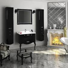 black mirror in the bathroom ideas foto and design