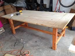 Modern Dining Room Table With Bench Farmhouse Dining Room Table Createfullcircle Com