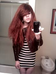 sissy boy with girly hairdos cutest outfit i could find crossdressers fembois and sissy boys