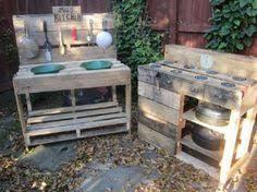 k che aus paletten matsch küche matsch küche outdoor play garden
