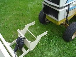 custom snowblade mounting bracket pro u0027s u0026 con u0027s only cub cadets
