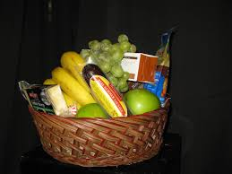 fruit and cheese gift baskets small gourmet gift basket fruit cheese crackers nuts candy