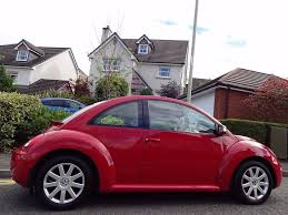 red volkswagen beetle 2006 vw beetle 1 6 luna red only 65k miles fsh timing belt