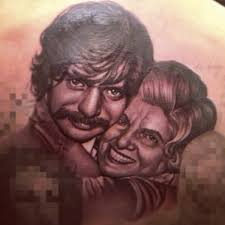 drake gets uncle u0026 grandmother tattoo on his back photos