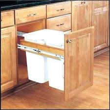 kitchen cabinet garbage can kitchen cabinet trash can snaphaven com
