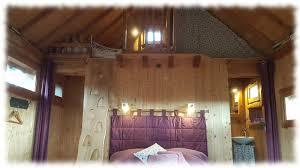 chambre cabane dans les arbres cabane arbres lit mezzanine 2 oustaou de joséphine