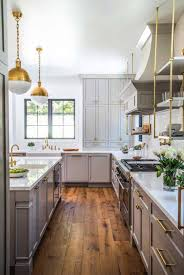 grey kitchen cabinets wood floor 20 fabulous kitchens featuring grey kitchen cabinets the