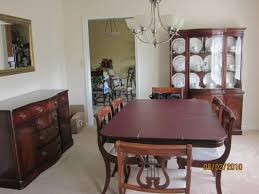 Drexel Dining Room Table Drexel Dining Room Set Antique Appraisal Instappraisal