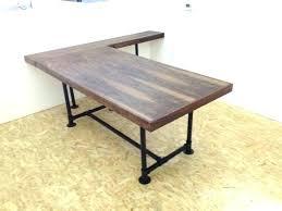 Diy Desk Pipe Black Pipe Desk Pipe Desk Legs Pipe Table Legs Plans Pipe Desk