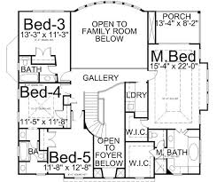 3 bedroom house floor plans style house plans plan 24 203
